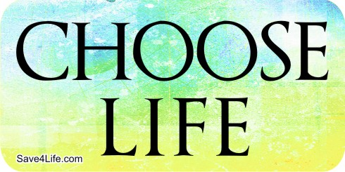 Choose Life 1x2 Envelope Sticker - Click Image to Close